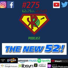 Krypton Report 275 — The New 52 turns 10 or does it?