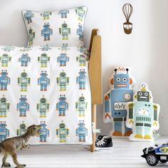 Robot 70 x 100 - Housse de couette - lit bébé