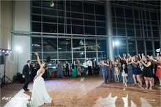 DJ Scott MCs bouquet toss  Photo Credit- Maxim Photo Studio  #CincinnatiWedding #PartyPleasers Wedding Reception Locations, Wedding Ceremony, Wedding Venues, Cleveland Wedding Venue, Paul Brown Stadium, Bouquet Toss, Photo Studio, Photo Credit, Ohio