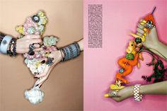 Michael Baumgarten - jewellery editorial