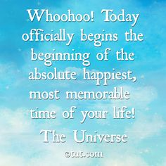 TODAY... The Absolute Happiest...& Memorable Mike Dooley, www.tut.com