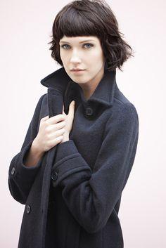 Manteau disponible en boutique : http://www.bensimon.com/fr/shops
