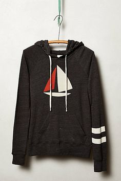 First Mate Hoodie #anthropologie. I don't need it but this is so cool! Perfect for spring nights!