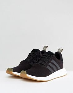 0fd045470 adidas Originals NMD R2 Sneakers In Black BY9917 - Black