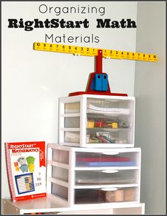 Organizing RightStart Math Materials