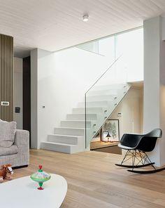 white stairs!