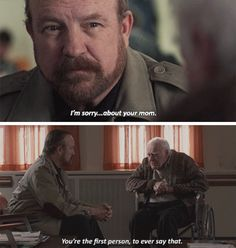 Bobby Singer was the best. But his guy, lost everybody he knew , his mother became a purgatory monster and abandoned him. When he tried to tell people and they locked him up and called him crazy. Bobby is the first person to express empathy.