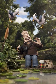 See Nick Park cameo in Shaun the Sheep: The Movie