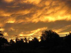 Wild skies over New Zealand
