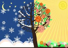 évszakok - ovi nyírtura - Picasa Webalbumok Seasons Of The Year, Four Seasons, Weather For Kids, Fall Crafts, Arts And Crafts, Seasons Activities, Weather Seasons, Egypt Art, Winter Scenes