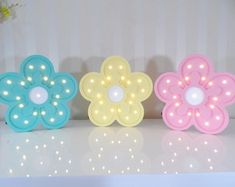 Cute Night Lights, Baby Girl Clipart, Best Night Light, Pink Birthday Cakes, Neon Lamp, Unicorn Bedroom, Rainbow Room, Marquee Lights, Art N Craft