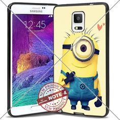 New Samsung Galaxy Note4 Case Minions Stuart Love Cute Cell Phone Case Shock-Absorbing TPU Cases Durable Bumper Cover Frame Black Lucky_case26 http://www.amazon.com/dp/B018KOQ71S/ref=cm_sw_r_pi_dp_9nMxwb0WGK0PV
