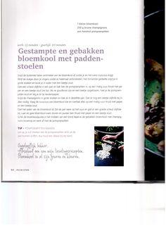 Gestampte en gebakken bloemkool met paddenstoelen Pascale Naessens