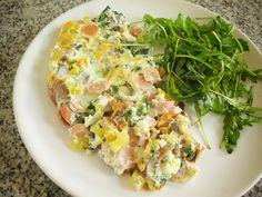 Receitas de Dieta: Tortilha de Claras Recheada