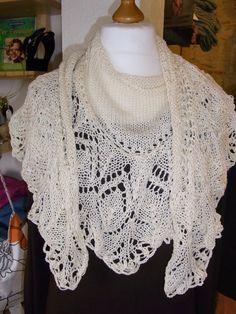 Strick-Schal, Anleitung unter Schals und Tücher zu finden