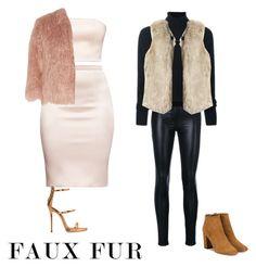 """Faux fur"" by fhk21 on Polyvore featuring Versace, Le Kasha, Theory, Aquazzura and Giuseppe Zanotti"