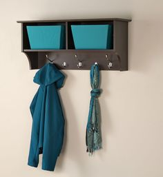 coat hook shelves | ... Accessories > Wall Coat Racks > 36 Inch Hanging Shelf with Coat Hooks