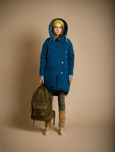 GRUNGE JOHN ORCHESTRA. EXPLOSION parka #winter #clothes