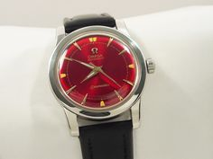 1953 OMEGA SEAMASTER AUTOMATIC VINTAGE MEN'S WATCH Old Watches, Vintage Watches For Men, Vintage Men, Omega Seamaster Automatic, Omega Automatic, Affordable Watches, Accessories, Vintage Watches, Old Clocks