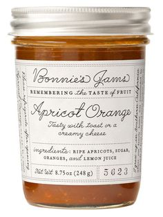 Bonnie's Jams – Apricot Orange