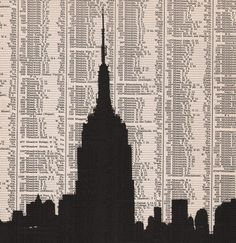 Empire State Building Print <3