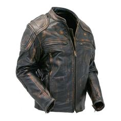 If you are in love with the racing biker's appearance of the past times, that were dresses in leather jacket, then you should buy a Café racer quilted distressed brown motorcycle leather jacket. Mens Leather Coats, Distressed Leather Jacket, Vintage Leather Jacket, Men's Leather Jacket, Leather Jackets, Motorcycle Leather, Biker Leather, Motorcycle Jackets For Men, Cafe Racer Jacke
