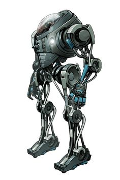 Sci-Fi Concept Art by Billy Nunez