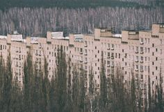 fuckyeahplattenbau:  Russia, Voronezh  la Bellezza del Disagio