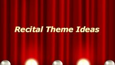 Fun dance recital theme ideas (Party, Beach, Disney, Choose an artist, Road Trip! Teach Dance, Dance Camp, Dance Recital, Learn To Dance, Show Dance, Just Dance, Dance Themes, Dance Academy, Dance Teacher