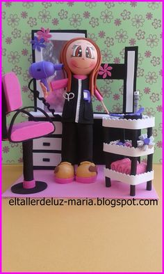 Foam Crafts, Diy And Crafts, Coloring Book Art, Biscuit, Lalaloopsy, Pasta Flexible, Handicraft, Art Dolls, Doll Clothes