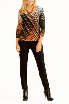 This super soft, lightweight knit pullover by Cheryl Nash is sure to become a fall fav! Look stunning while staying warm during those cool days and evenings in the months ahead. Ikula Pullover by Cheryl Nash. Clothing - Tops - Blouses & Shirts Columbia, South Carolina