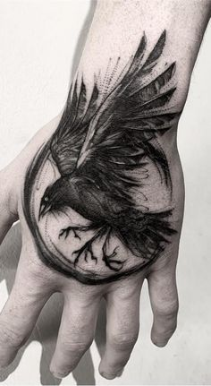 Bird Tattoo Men Ravens Crows New IdeasYou can find Ravens and more on our website.Bird Tattoo Men Ravens Crows New Ideas Body Art Tattoos, Sleeve Tattoos, Cool Tattoos, Tree Tattoos, Pretty Tattoos, Skull Tattoos, Black Tattoos, Norse Tattoo, Viking Tattoos