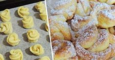 Amaretti from Italy - HQ Recipes My Favorite Food, Favorite Recipes, Good Food, Yummy Food, Bulgarian Recipes, Czech Recipes, Romanian Food, Rose Cake, Italian Dishes