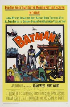 Batman (1966) - Mini Print A