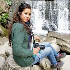 Beautiful banjhakri waterfall Jan 2018