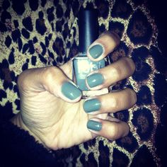 My nails this past weekend! Perfect winter color☺