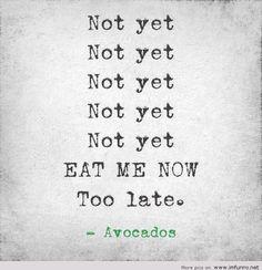Avocados..