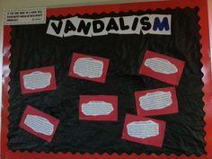 """Vandalism"" Response to floor vandalism"