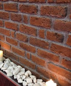 Memphis Red brick slips