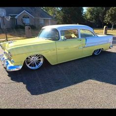 1955 Chevy..Re-pin Brought to you by agents at #HouseofInsurance in #EugeneOregon for #AutoInsurance