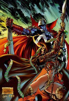 Medieval Spawn & Witchblade