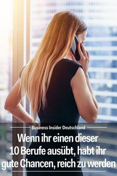 Karriere machen: In diesen 10 Jobs stehen eure Chancen am besten, reich zu werden. Artikel: BI Deutschland Foto: Shutterstock/BI