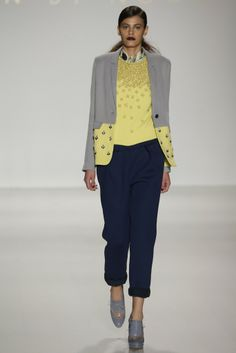 Noon by Noor RTW Fall 2014 - Slideshow - Runway, Fashion Week, Fashion Shows, Reviews and Fashion Images - WWD.com