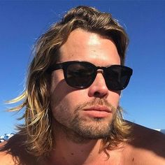 Long Surfer Hair - 40 Hot Guys with Long Hair: Sexy Long Hairstyles For Men #longhairmen #menshairstyles #menshair #menshaircuts #menshaircutideas #menshairstyletrends #mensfashion #mensstyle #fade #undercut #barbershop #barber