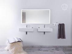 """Furesø 60"" wash basin from Copenhagen Bath."