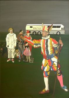 Peter Blake, The Artists' Fancy Dress Ball, 2004, Oil on canvas,