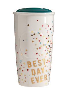 Starbucks® Dot Collection 2015 – Best Day Ever Confetti ($20)