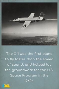 #OnThisDay in 1947, Chuck Yeager flew the experimental X-1 aircraft and became the first pilot to break the sound barrier! #TBT