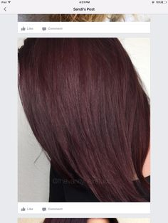 The root area was with 2 ribbon inches of violet booster. The mid strands and ends were and 2 ribbon inches of violet booster. Hair Goals Color, Red Hair Color, Purple Hair, Hair Levels, Kenra Color, Hair Color Formulas, Insta Makeup, Hair And Nails, Cool Hairstyles