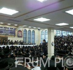 At The Kabulas Punim Today For The Gavad Yerushalayim Shlita In The Yavozhna Shul In Williamsburg